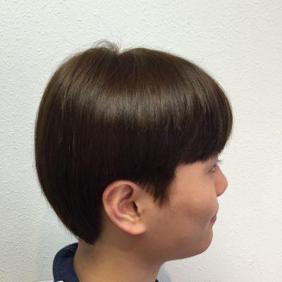 Man's Hair Color & Cut